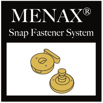 Menax® Snap Fastener System